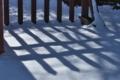 [赤門][赤門広場][雪面][影][妙義神社]赤門