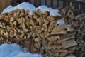 [薪][薪小屋][焚き木][門前宿][妙義神社]薪