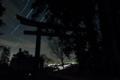 [めぐる星空][星空][夜景][銅鳥居][妙義神社]めぐる星空