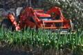 [ネギ畑][葱畑][ねぎ畑][トラクター][農耕車]ネギ畑