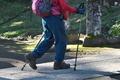 [登山者たち][登山者][ハイカー][境内][妙義神社]登山者たち