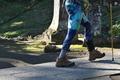 [登山者たち][登山者][ハイカー][通行止め][妙義神社]登山者たち
