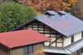 [民家][赤い屋根][家屋][集落][コナラ]民家
