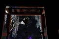 [桜][夜桜][ライトアップ][総門][妙義神社]桜