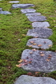 [飛石][飛び石][庭園][落ち葉][苔]飛石