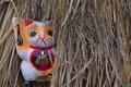 [招き猫][猫][ねこ][ネコ][どんど焼き]招き猫