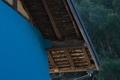 [民家][家屋][トタン][青いトタン][竹やぶ]民家