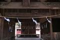 [八幡宮][割拝殿][紙垂][注連縄][松井田八幡宮]八幡宮