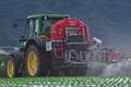 [トラクター][農耕車][高原野菜][レタス畑][草越]トラクター