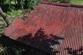 [炭焼き小屋][炭窯][トタン ][赤い屋根][宮掛]炭焼き小屋