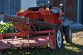 [トラクター][農耕車][冬野菜][畑][新堀]トラクター