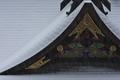 [山沿いは雪][降雪][雪][波己曽社][妙義神社]山沿いは雪