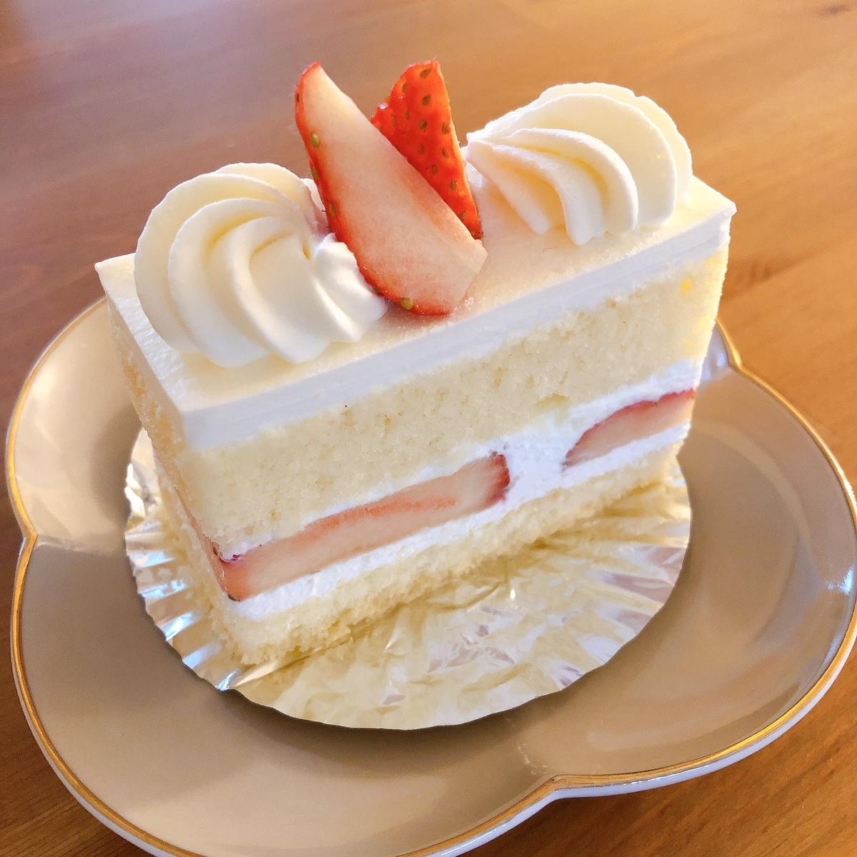 sinonokaの苺のショートケーキ