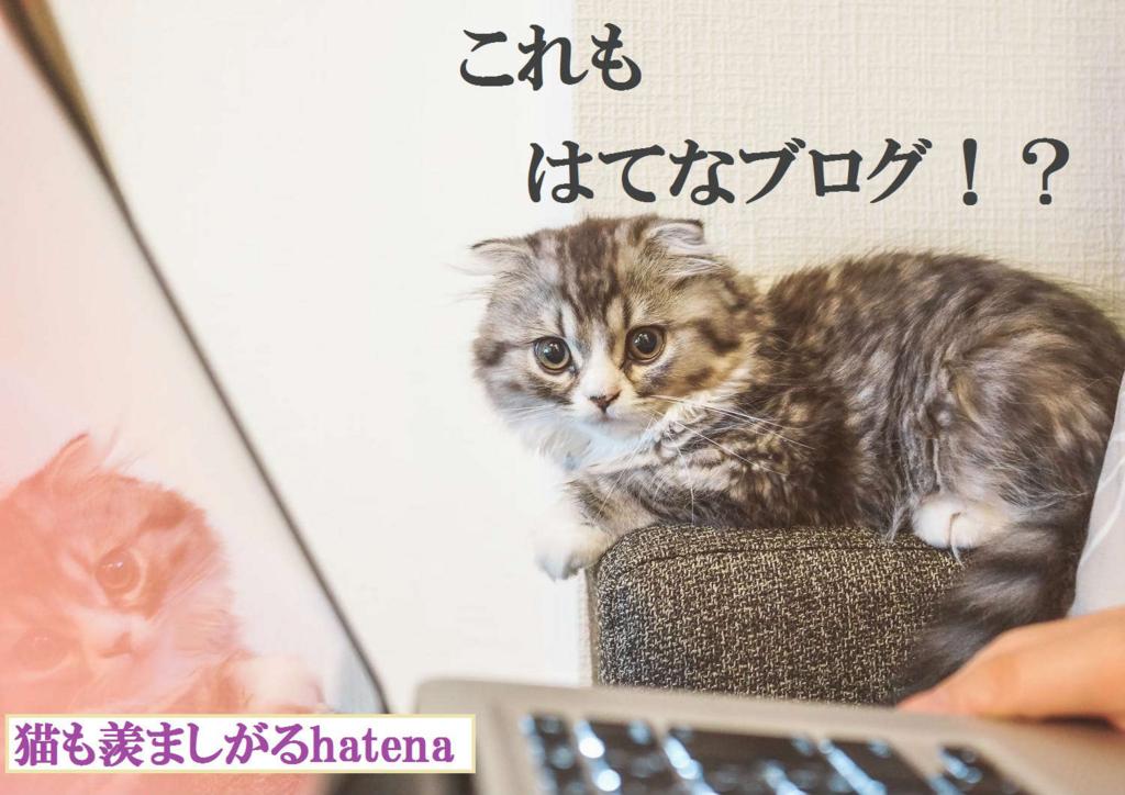 猫も羨ましがるhatena