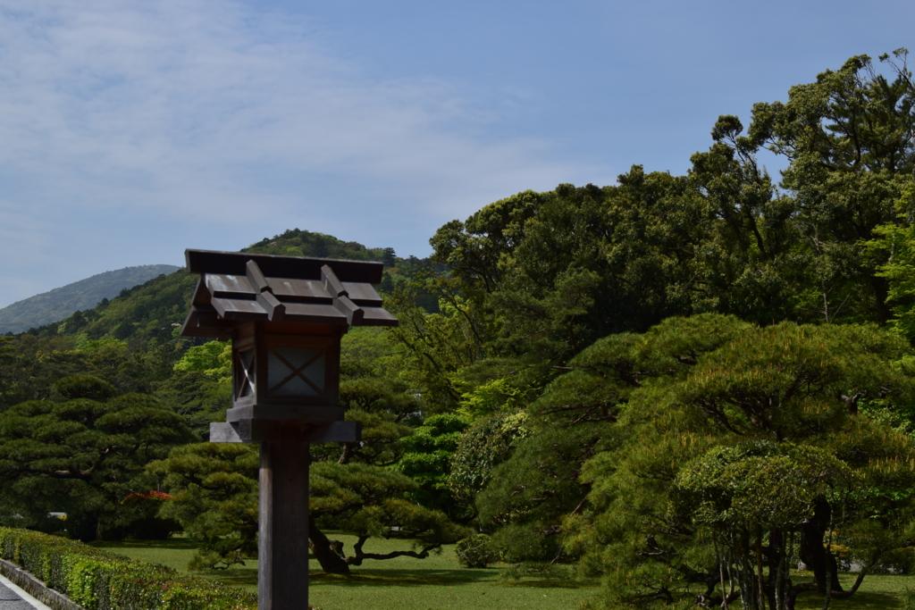 伊勢神宮6月の景色