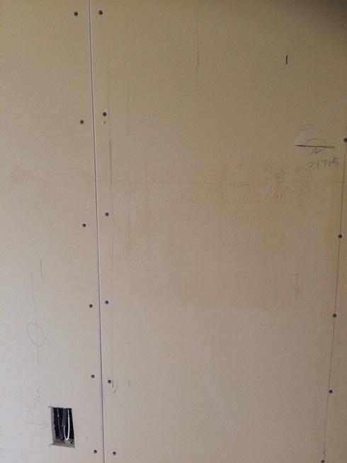 キッチンパネルの貼り位置