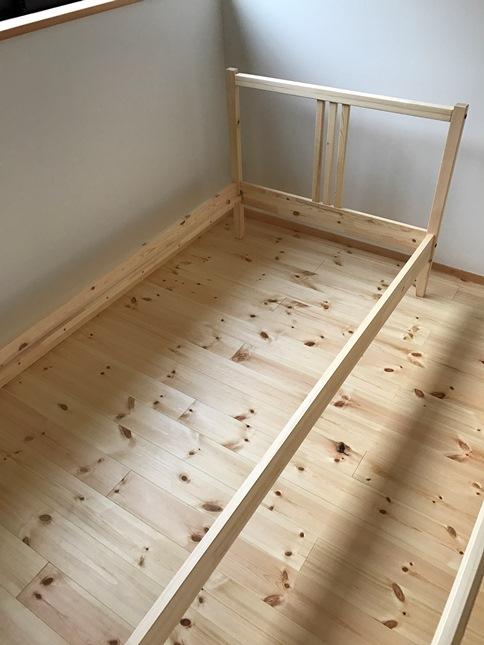 IKEAベッド①