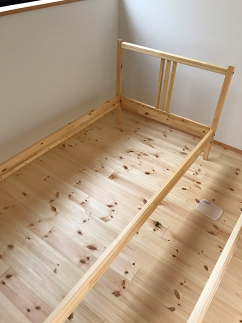 IKEAベッド②