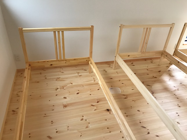 IKEAベッド③