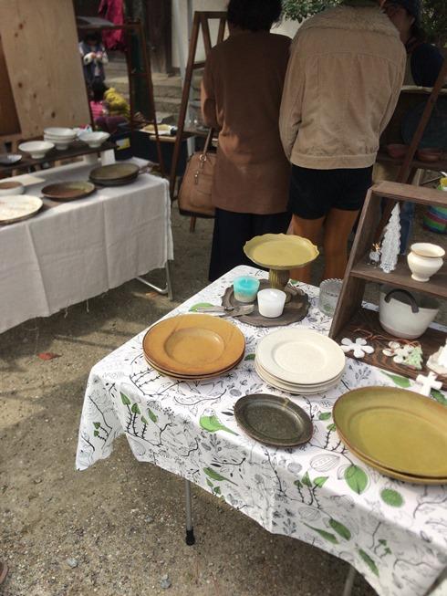 #手作りの市#雑貨たち#陶器