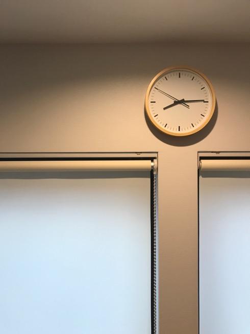 #無印#壁掛け時計