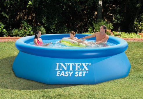 #INTEX EASY SETプール➀