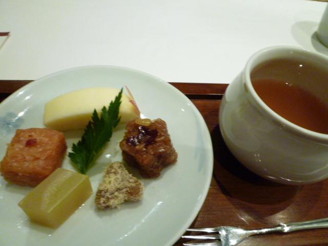 韓国宮廷料理 茶菓子さつまいも羊羹