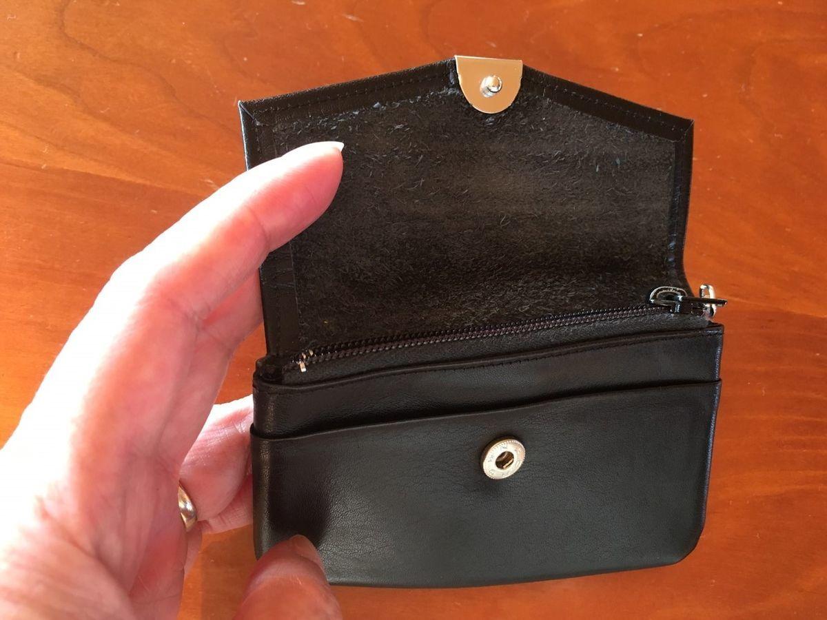 紛失対策、コンパクト財布