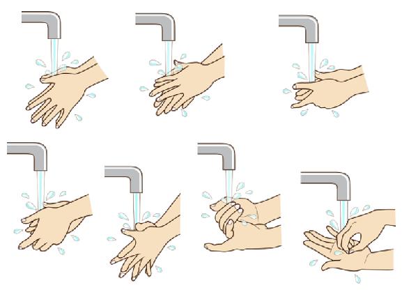 衛生手洗い