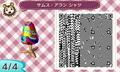 [メトロイド][任天堂][どうぶつの森]サムス・アラン シャツ4/4
