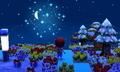正月の花火