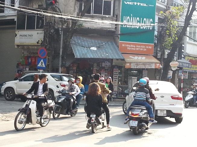 ハノイのバイク族