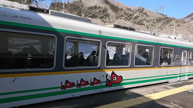 会津鉄道・普通列車