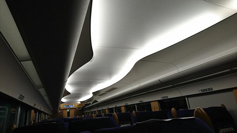リバティの天井。