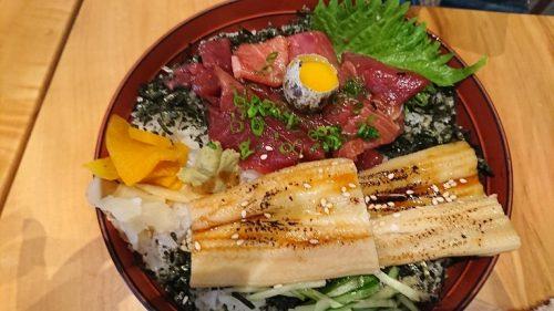 づけあなちらし寿司
