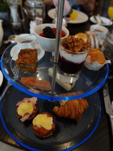 ソーホーホテルの朝食