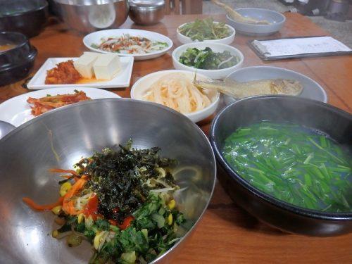 シジミスープ定食