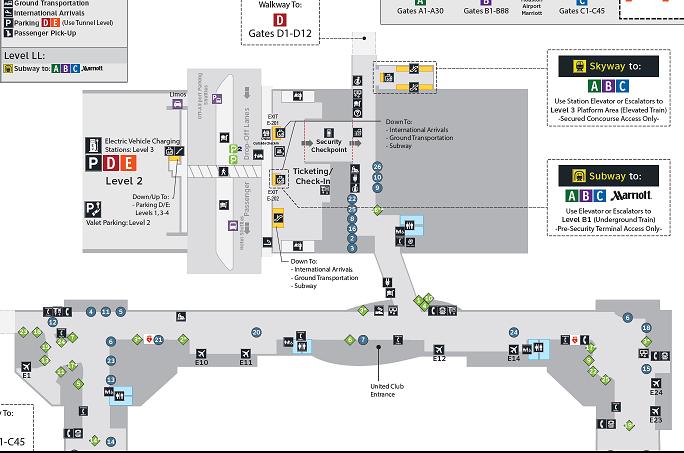 空港マップ