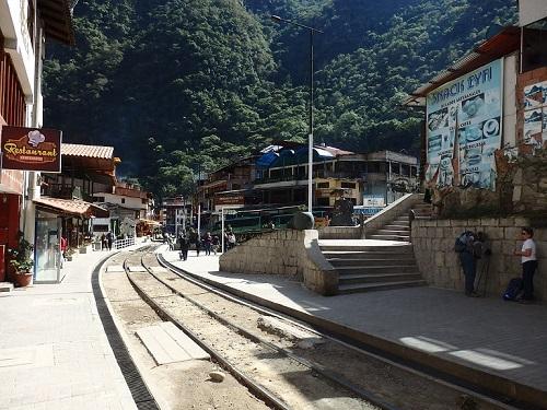 インカレールの線路