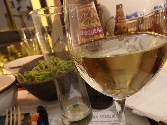 セヴィーチェ・レストランのワイン