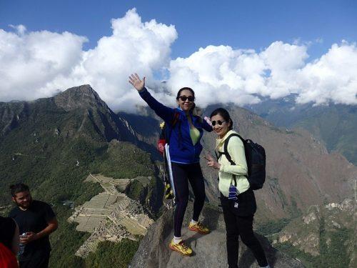 ワイナピチュ山頂