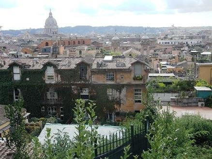 ポポロ広場から見た風景