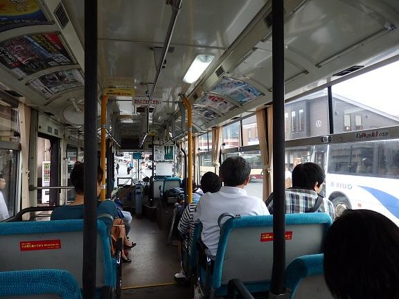 奥志賀行きバス