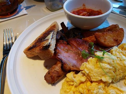 インターコンチラウンジの朝食