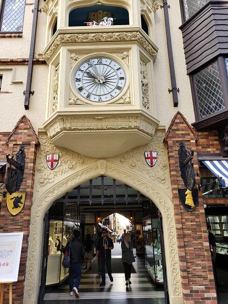 ロンドンコート入り口
