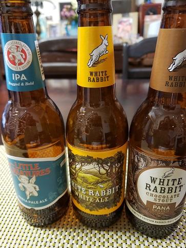 リトルクリーチャから買って来たビール3本