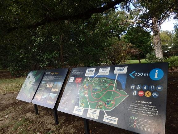 キングスパーク地図
