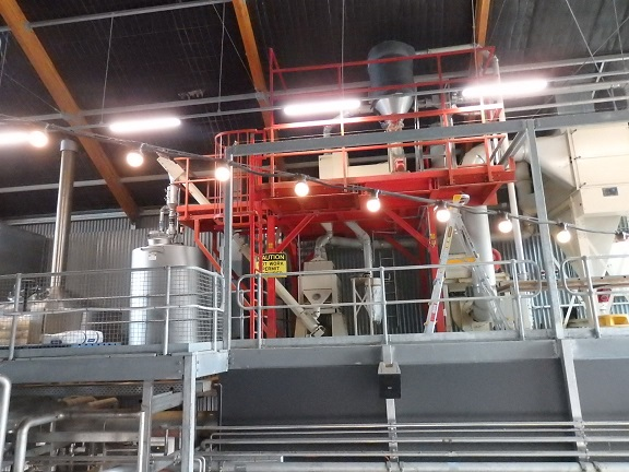 ビールの製造過程見学
