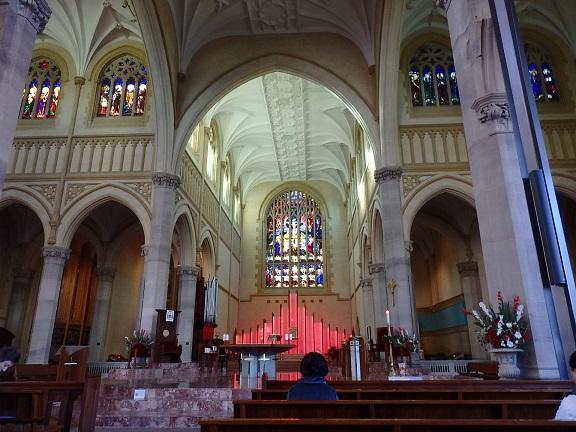 大聖堂内部