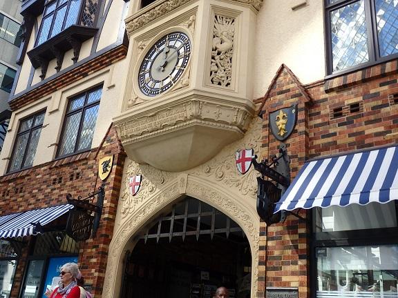 ロンドンコートのセントジョージテラス側の入り口
